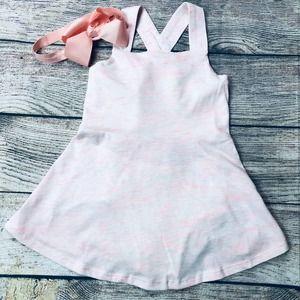 NWT Baby Gap Girls 12-18m pink dress